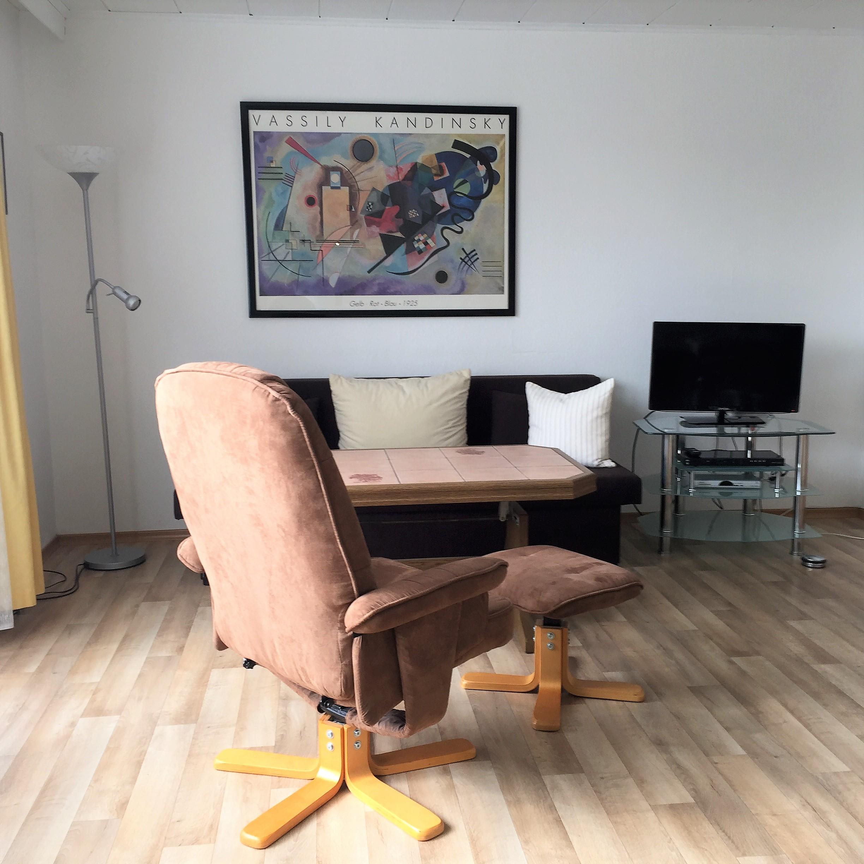 Appartement 3 - Wohnbereich