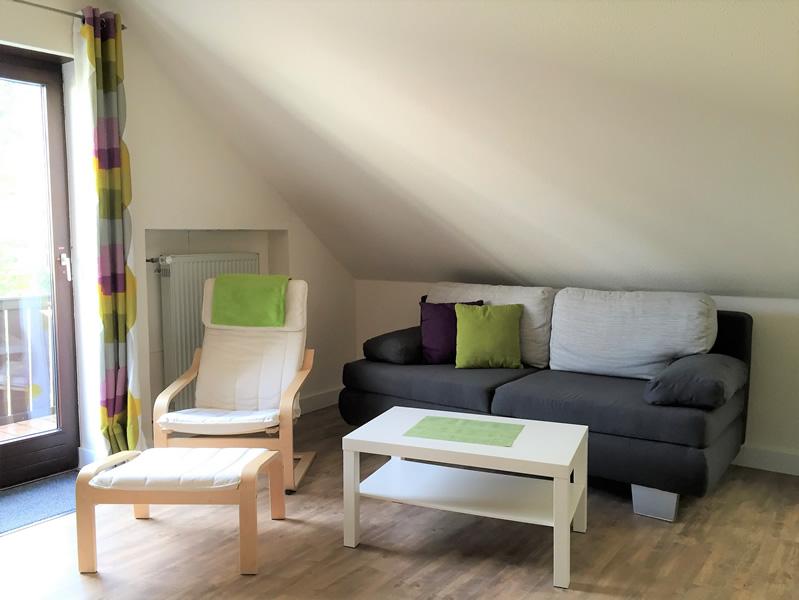 Appartement 1 - Wohnbereich