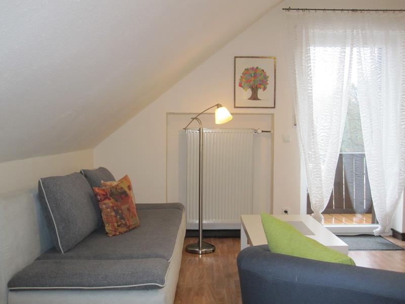 Appartement 2 - Wohnbereich