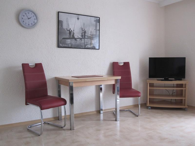 Appartement 4 - Essbereich