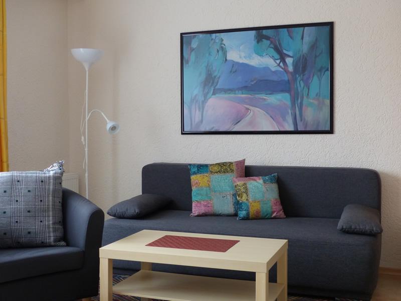 Appartment 4 - Wohnbereich